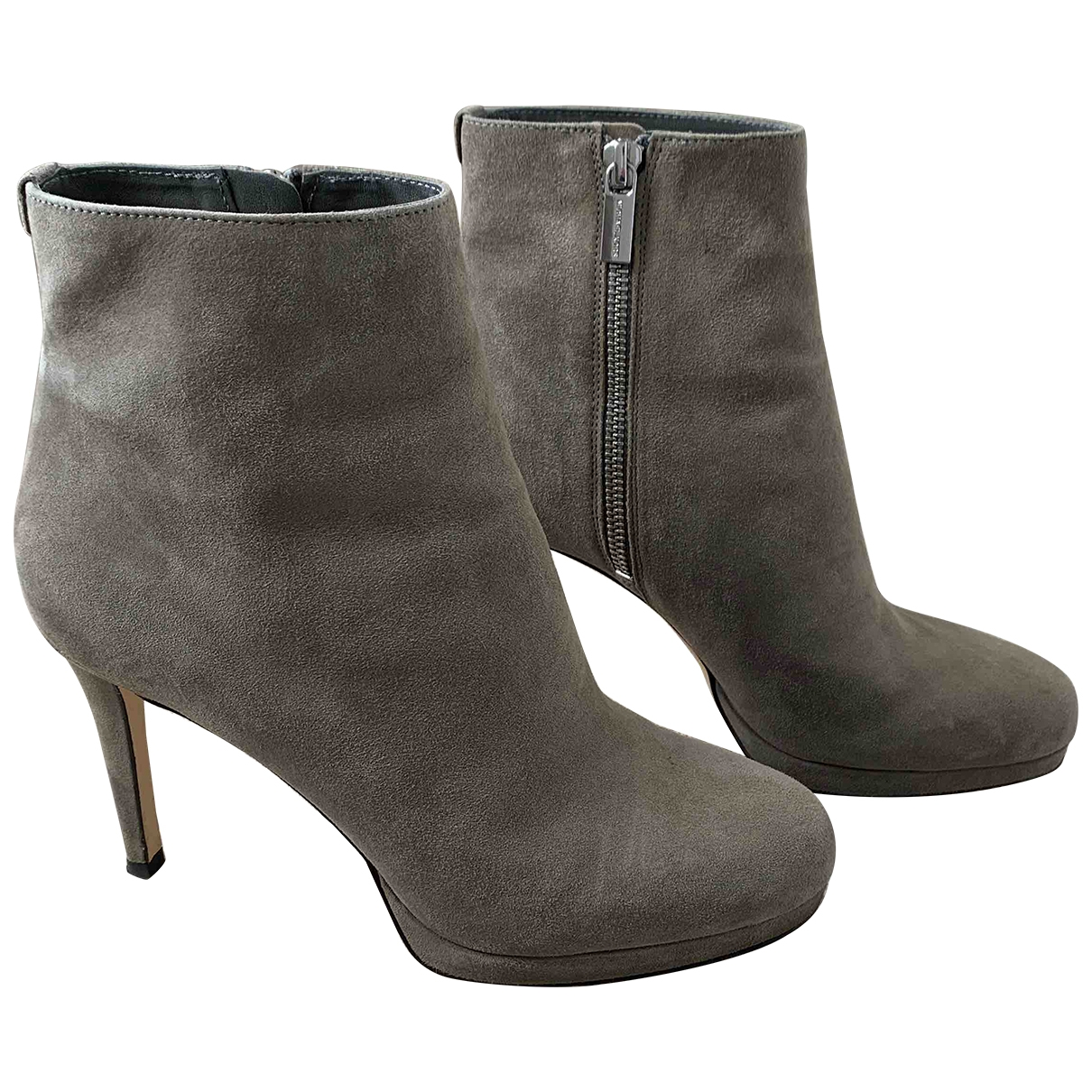 Michael Kors \N Grey Suede Ankle boots for Women 7.5 US