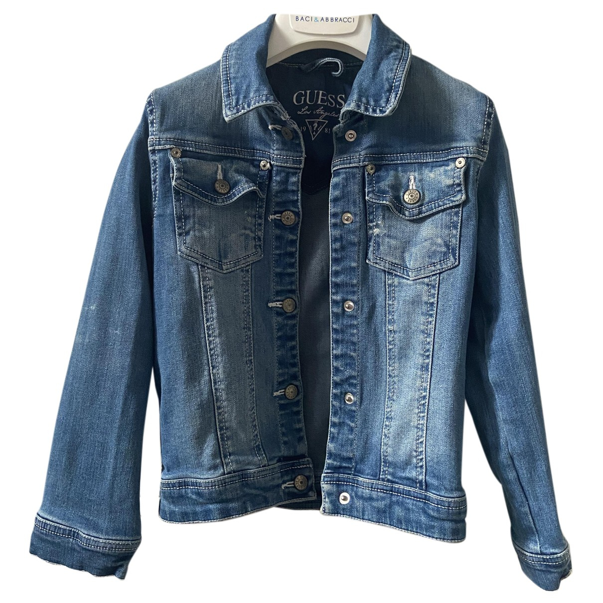 Guess N Blue Cotton jacket & coat for Kids 5 years - up to 108cm FR