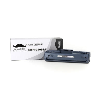 Compatible HP 92A C4092A Black Toner Cartridge - Moustache@
