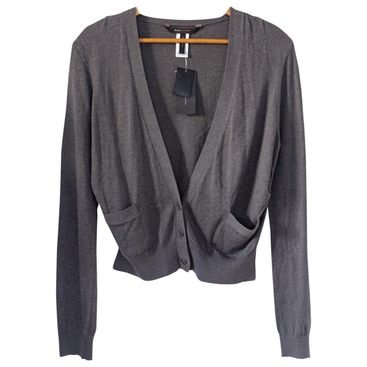 Bcbg Max Azria \N Pullover in  Grau Seide