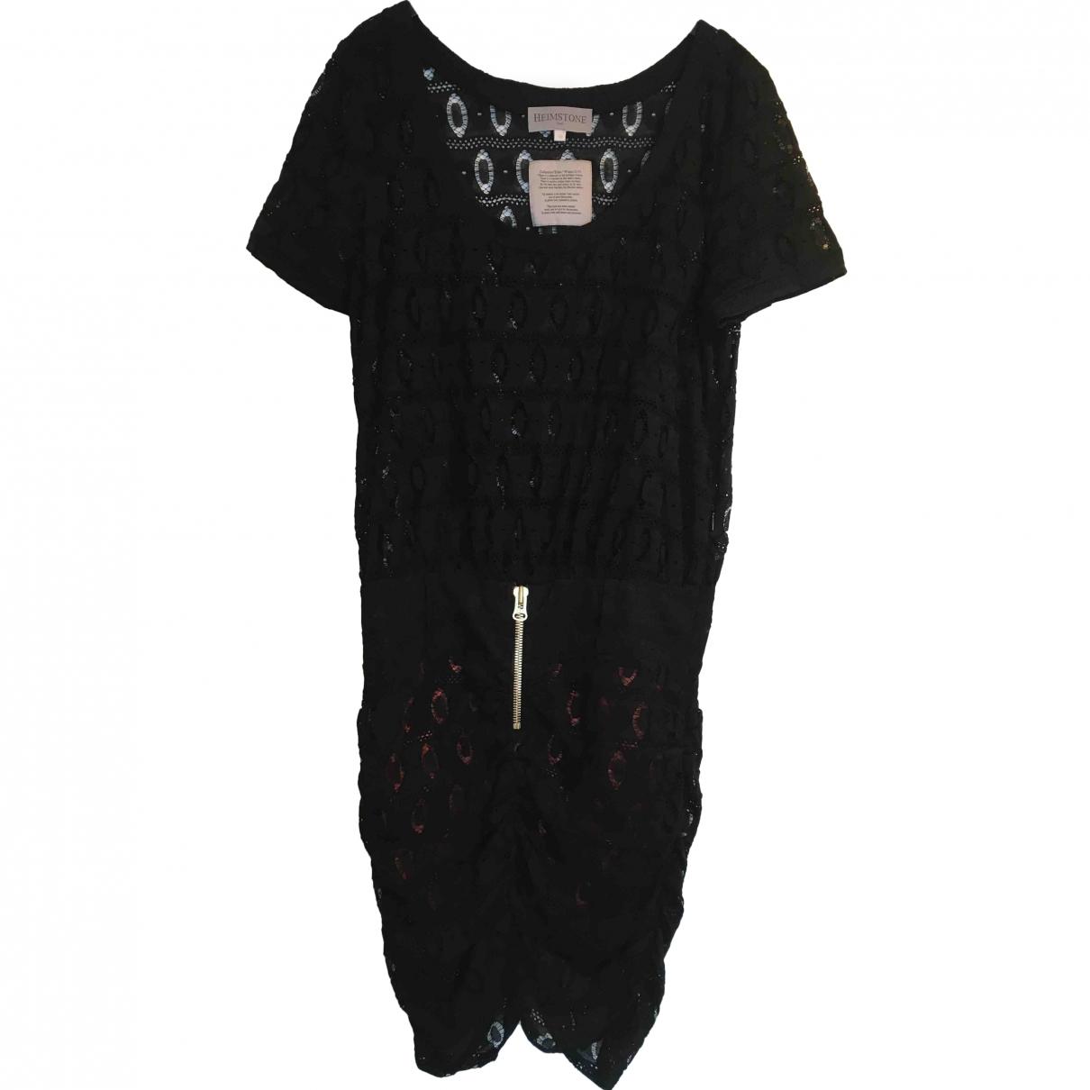 Heimstone \N Black Lace dress for Women 38 FR