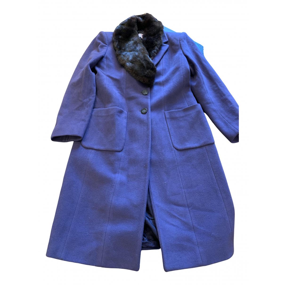 Emanuel Ungaro - Manteau   pour femme en laine - violet