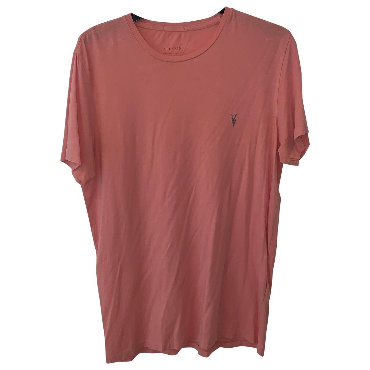 All Saints \N Cotton T-shirts for Men M International