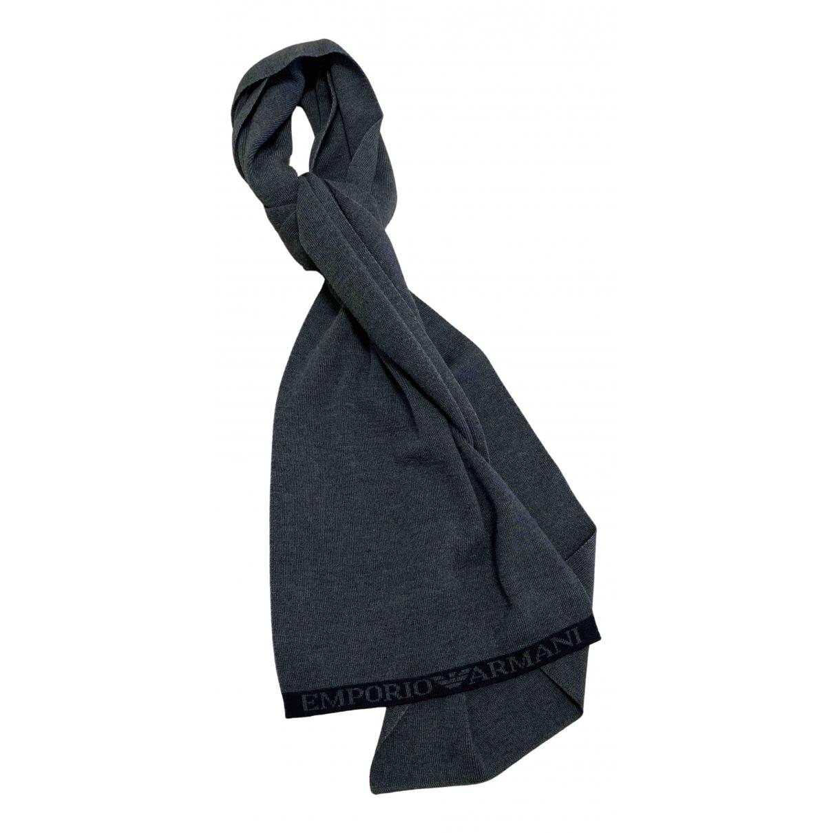 Pañuelo / bufanda de Lana Emporio Armani