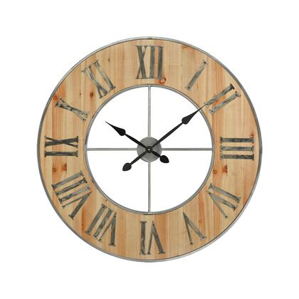 3205-002 Foxhollow Wall Clock  In Natural Oak Stain  Raw