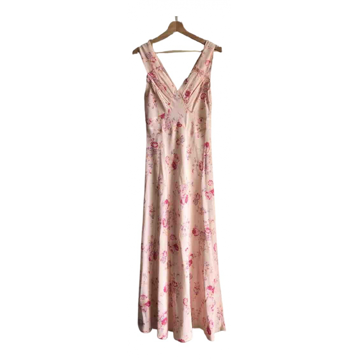 Realisation - Robe   pour femme en soie - rose