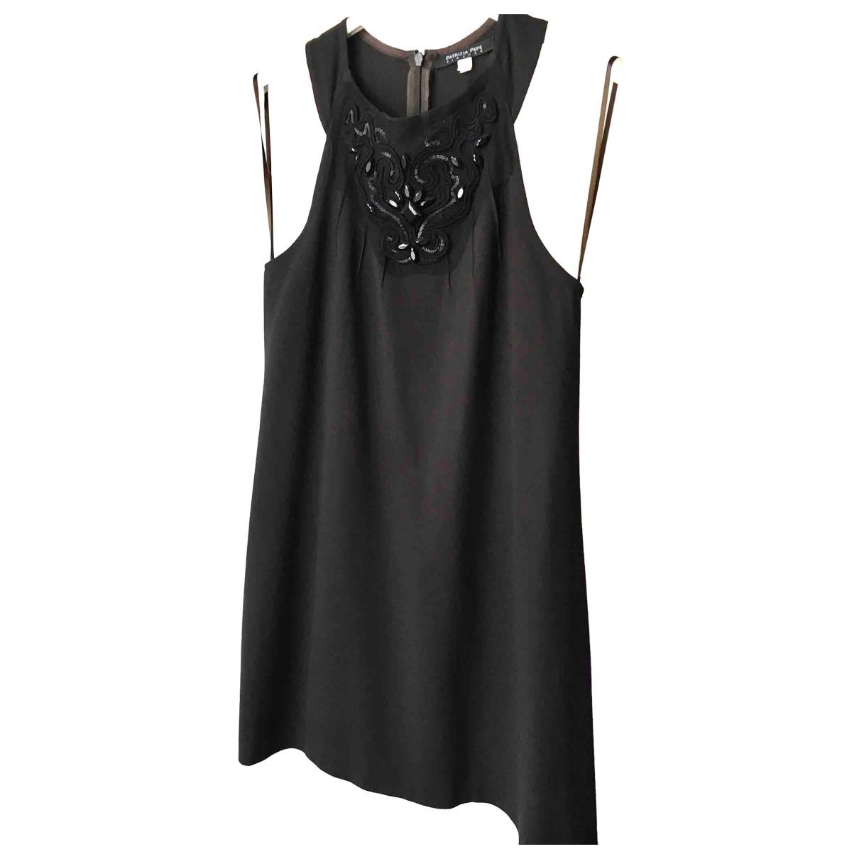 Patrizia Pepe \N Kleid in  Braun Wolle