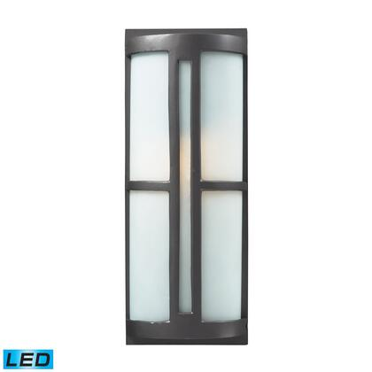 42395/1-LED 1- Light Outdoor Sconce in Graphite -