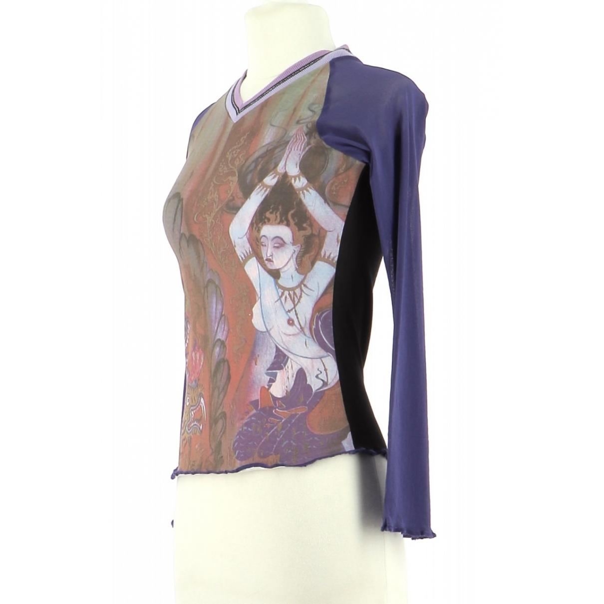 Autre Marque \N Purple Cotton  top for Women 36 FR