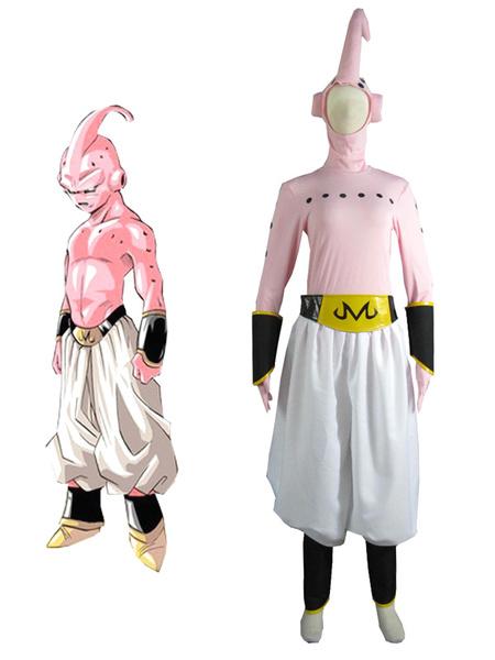 Milanoo Halloween Dragon BallZ Majin Boo Boo malvado Cosplay Costume