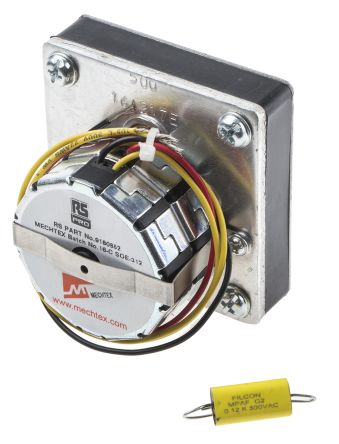 RS PRO Synchronous AC Geared Motor, 1 Phase, Reversible, 230 V, 1 rpm, 3.6 W