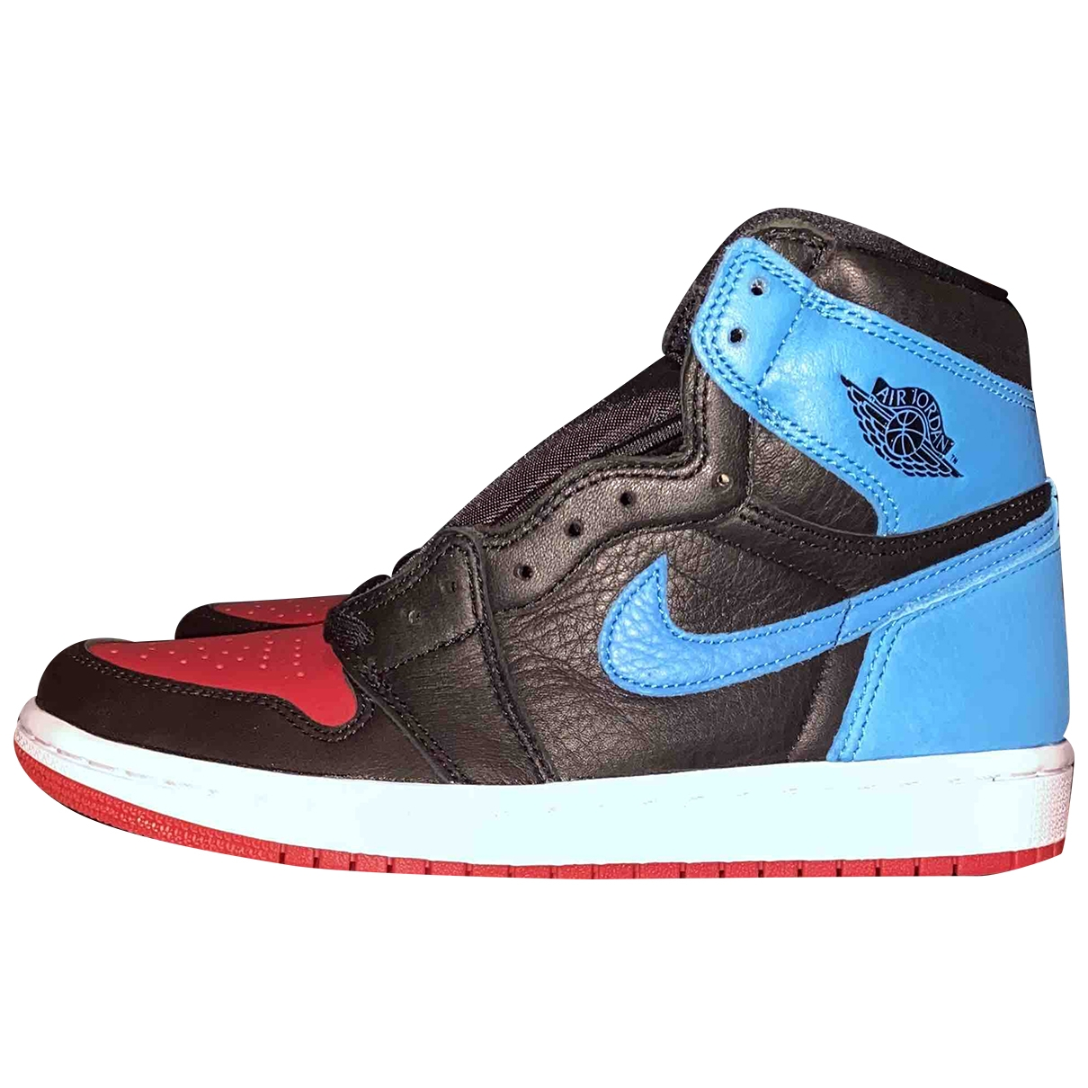 Jordan Air Jordan 1  Blue Leather Trainers for Women 40 EU