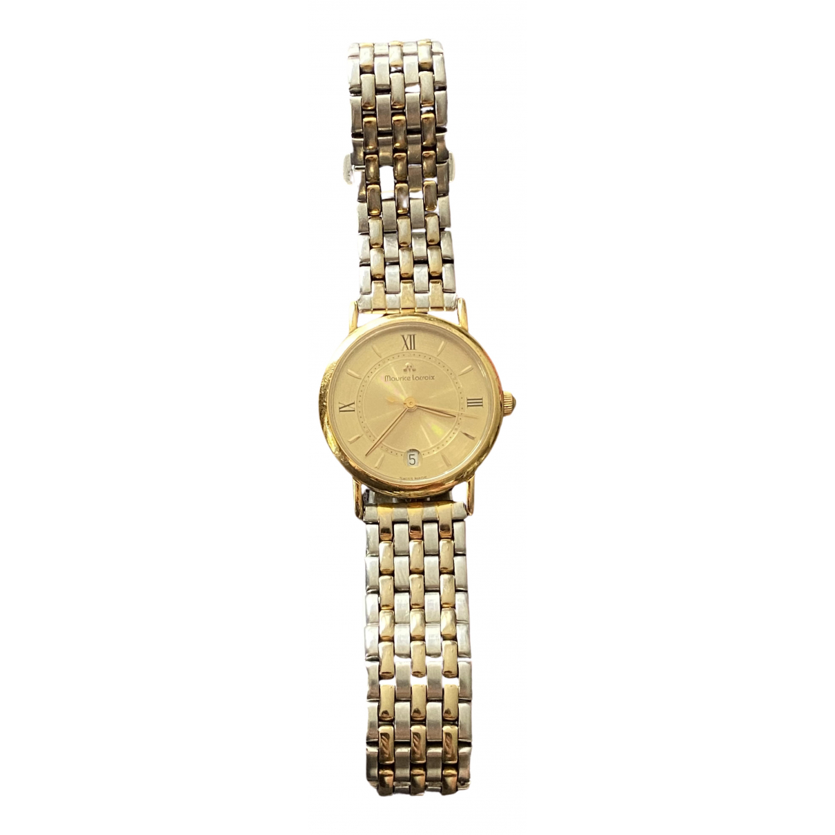 Maurice Lacroix \N Gold Gold plated watch for Women \N