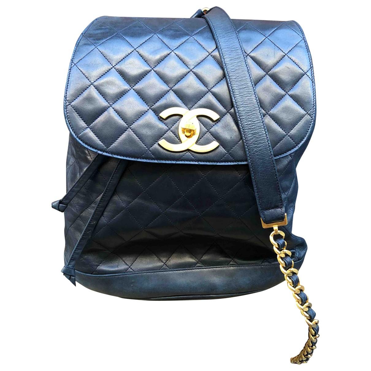 Mochila Timeless/Classique de Cuero Chanel