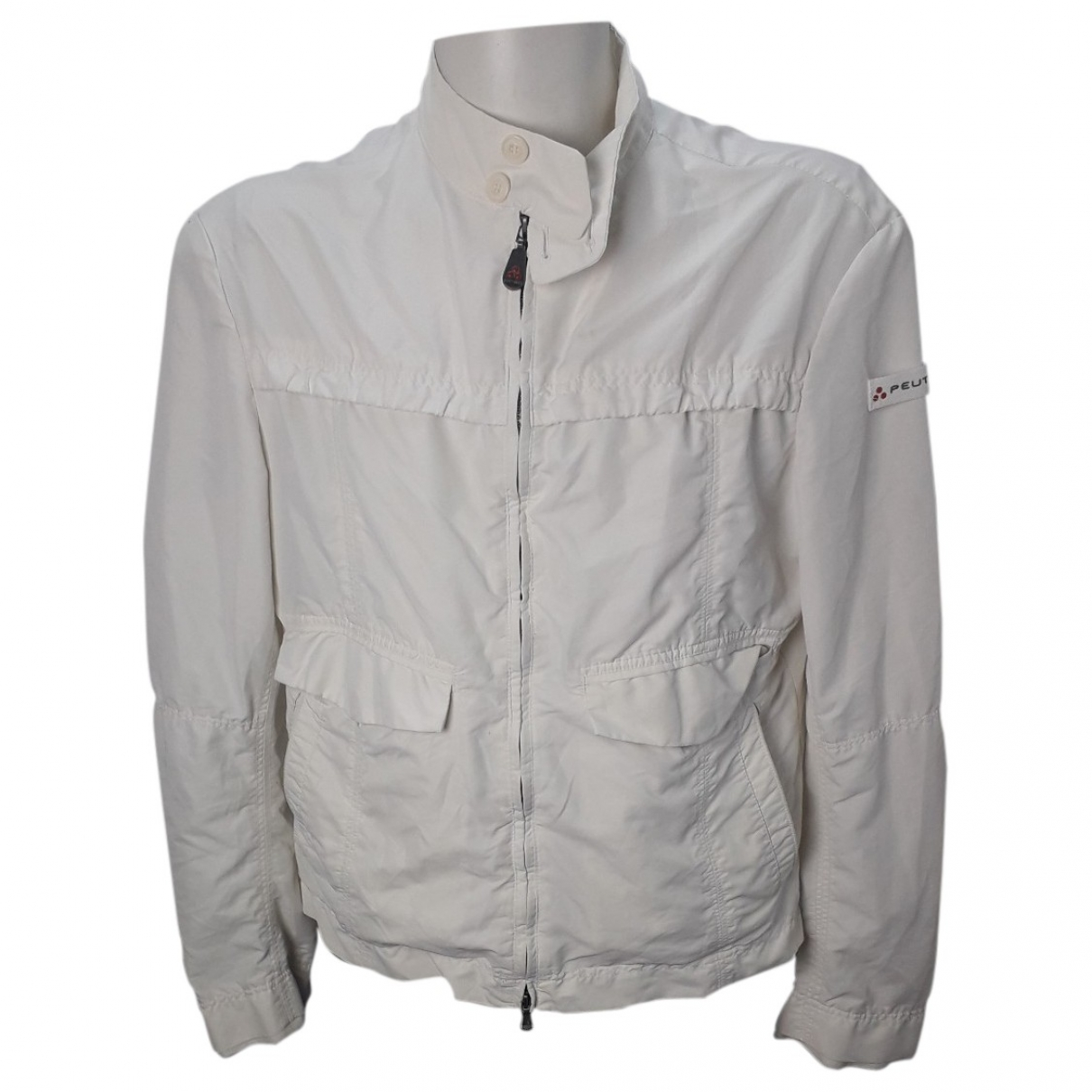 Peuterey \N Jacke in  Weiss Polyester