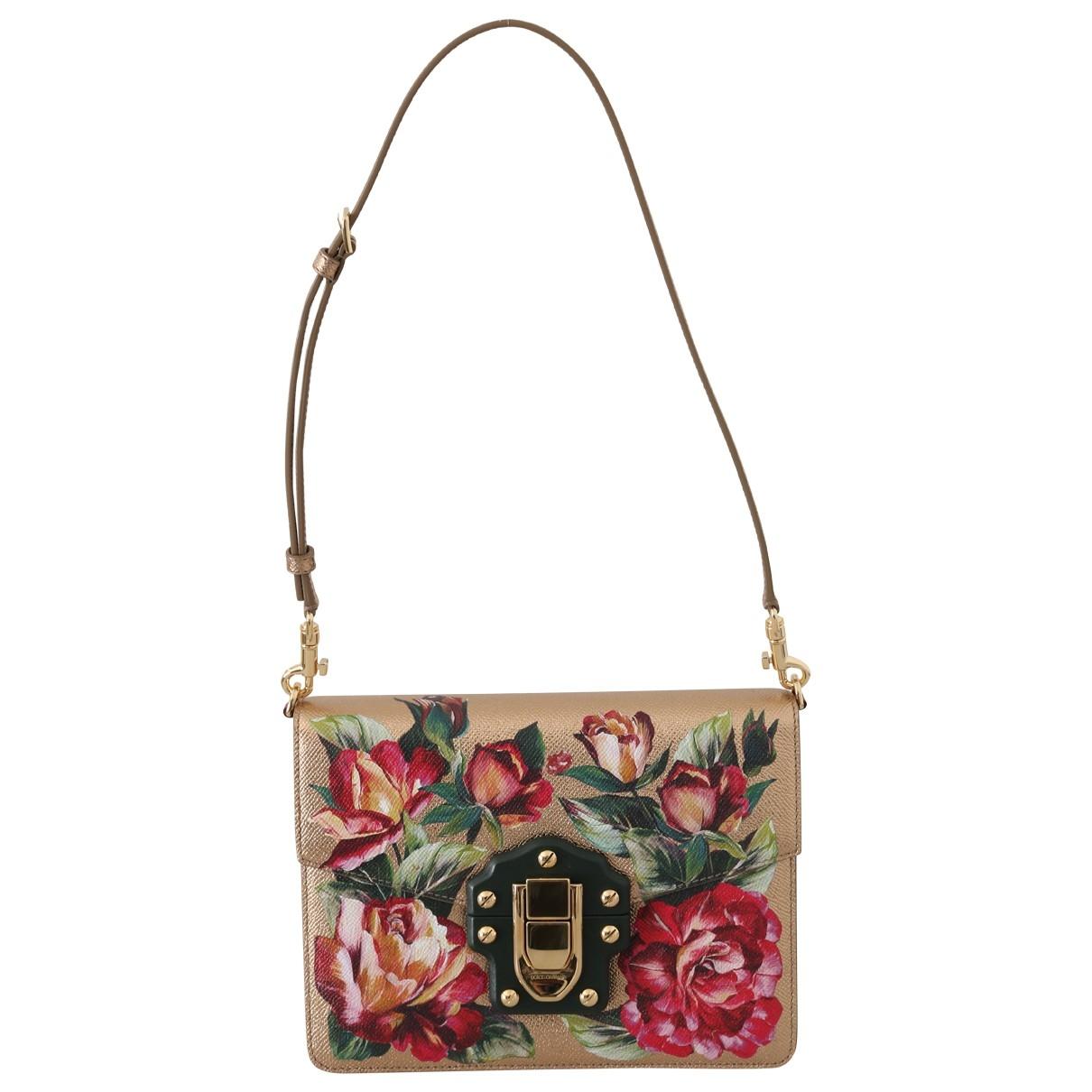 Bolso  Lucia de Cuero Dolce & Gabbana