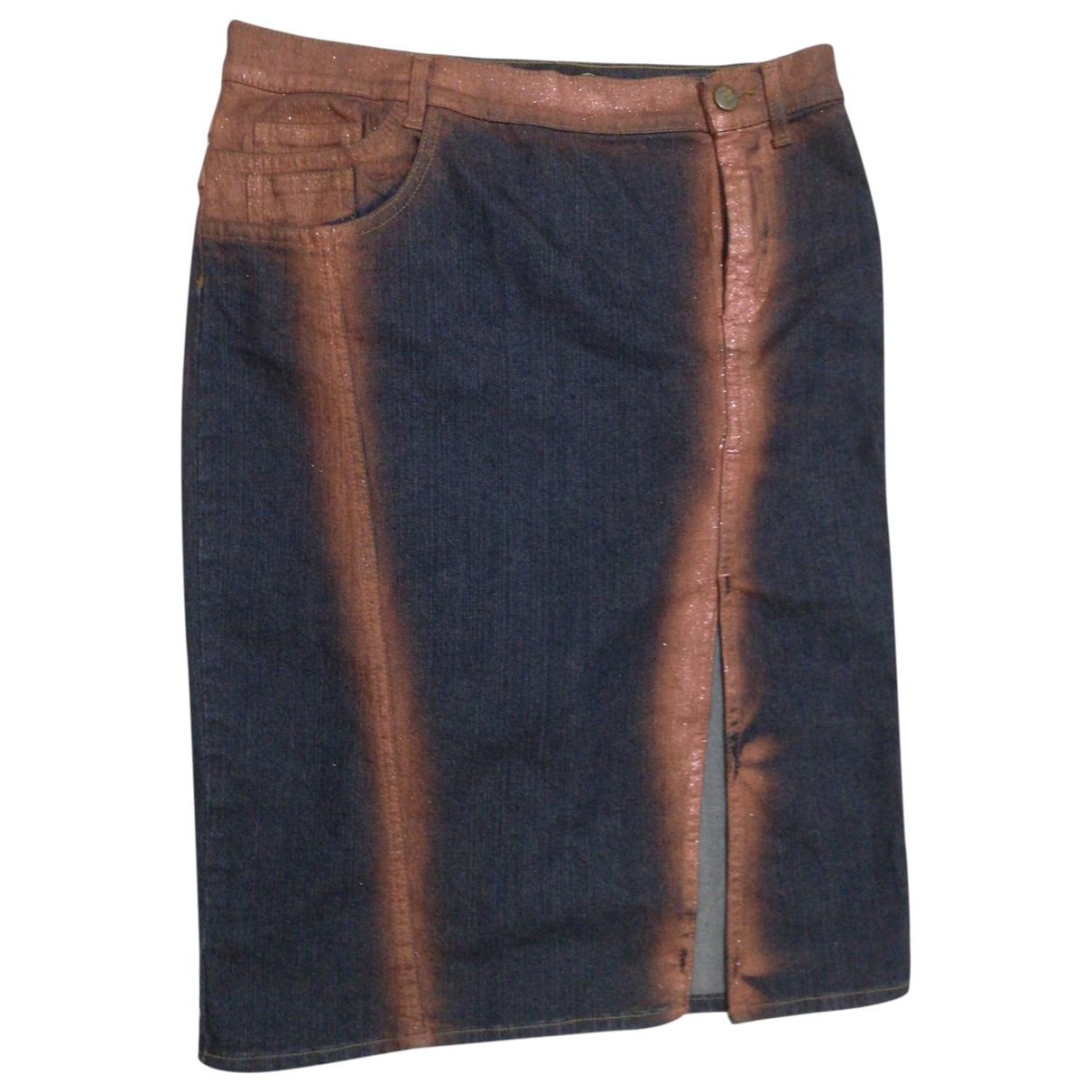 Just Cavalli \N Multicolour Cotton skirt for Women 42 IT