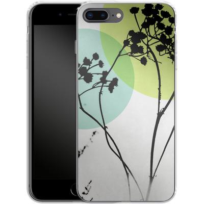 Apple iPhone 8 Plus Silikon Handyhuelle - Abstract Flowers 2 von Mareike Bohmer