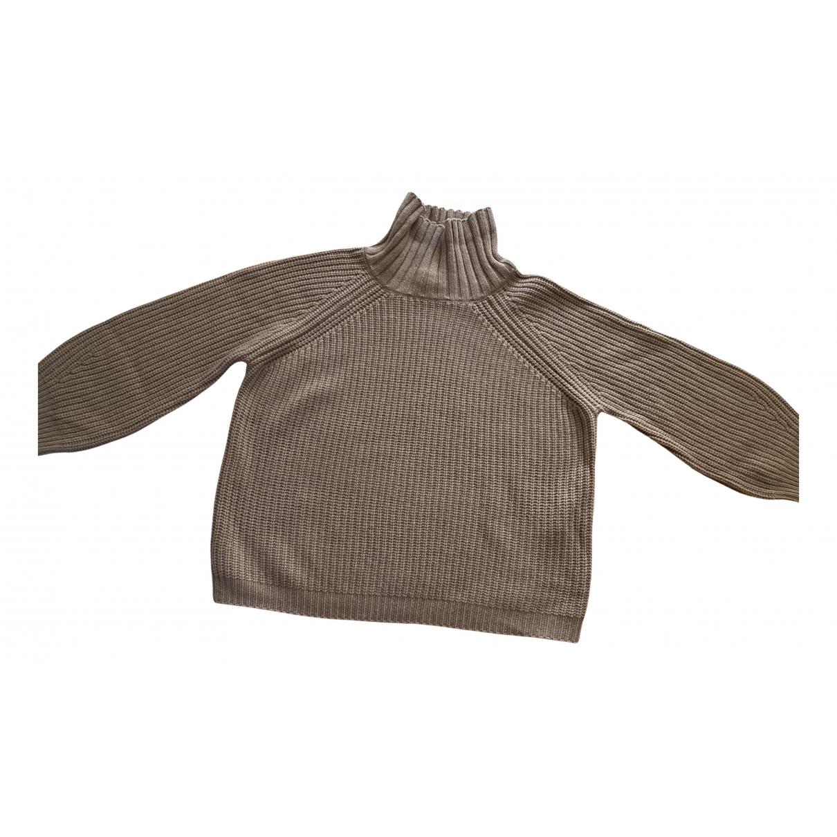 Max Mara Weekend \N Camel Wool Knitwear for Women M International