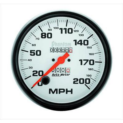 Auto Meter Phantom In-Dash Mechanical Speedometer - 5896