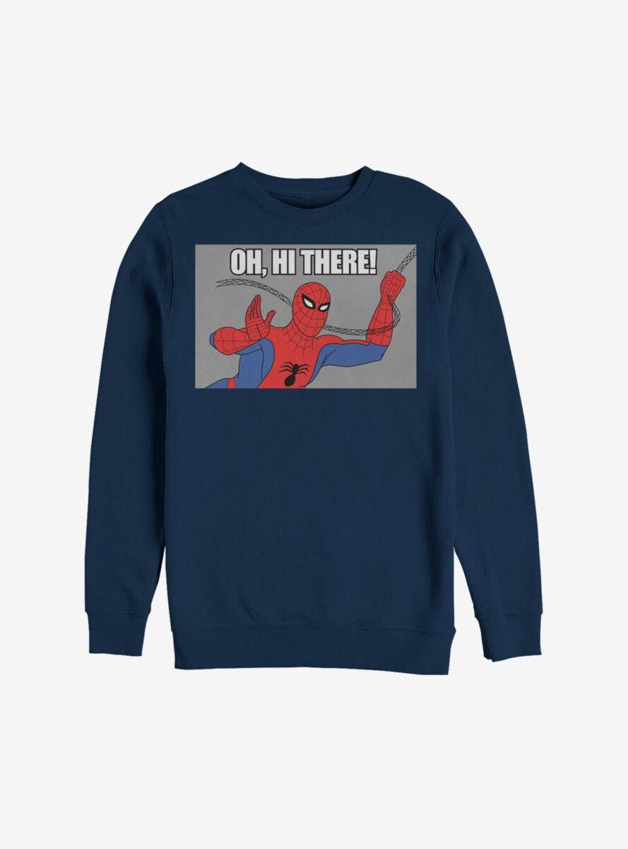 Marvel Spider-Man Oh Hi There Sweatshirt