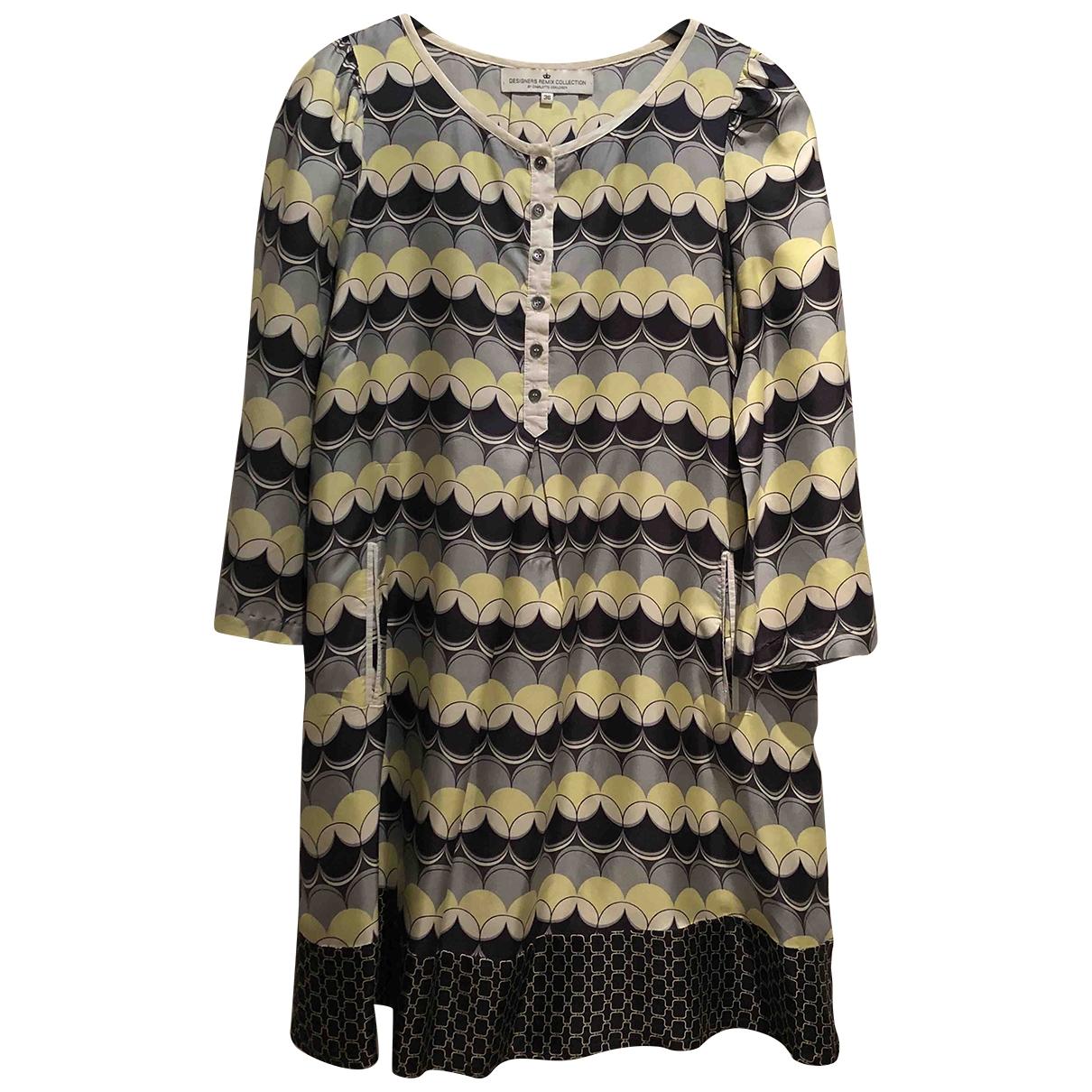 Designers Remix \N Multicolour Silk dress for Women 36 FR