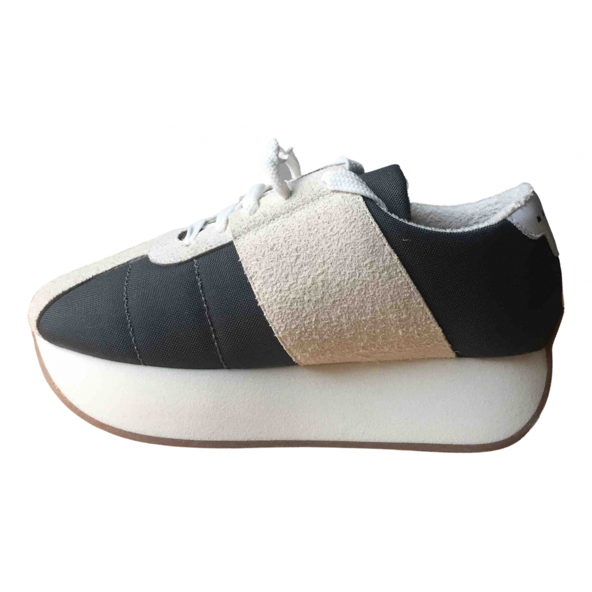 Marni \N Anthracite Cloth Trainers for Men 42 EU