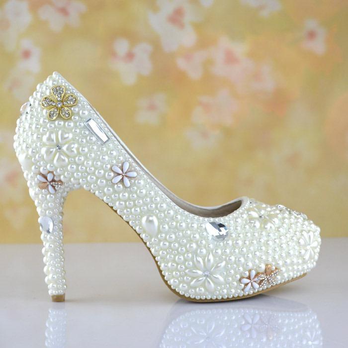 Ericdress Delicate Crystal Wedding Shoes