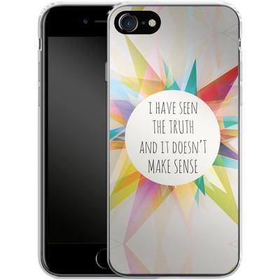 Apple iPhone 7 Silikon Handyhuelle - Truth von Mareike Bohmer