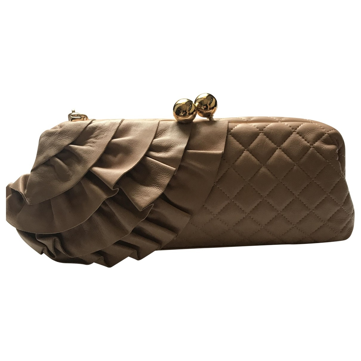 Pochette de Cuero Moschino Cheap And Chic
