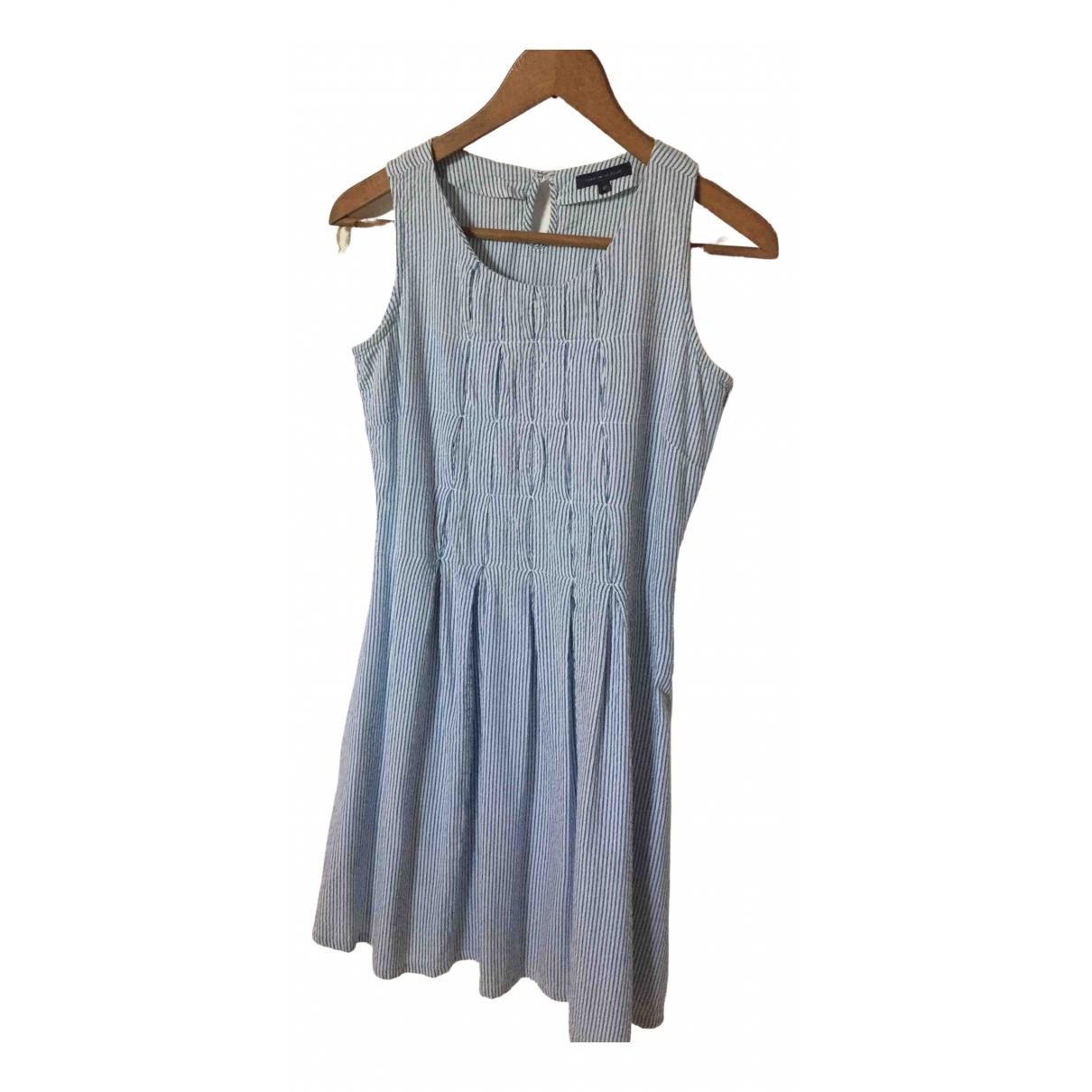 Tommy Hilfiger - Robe    pour enfant en coton - bleu