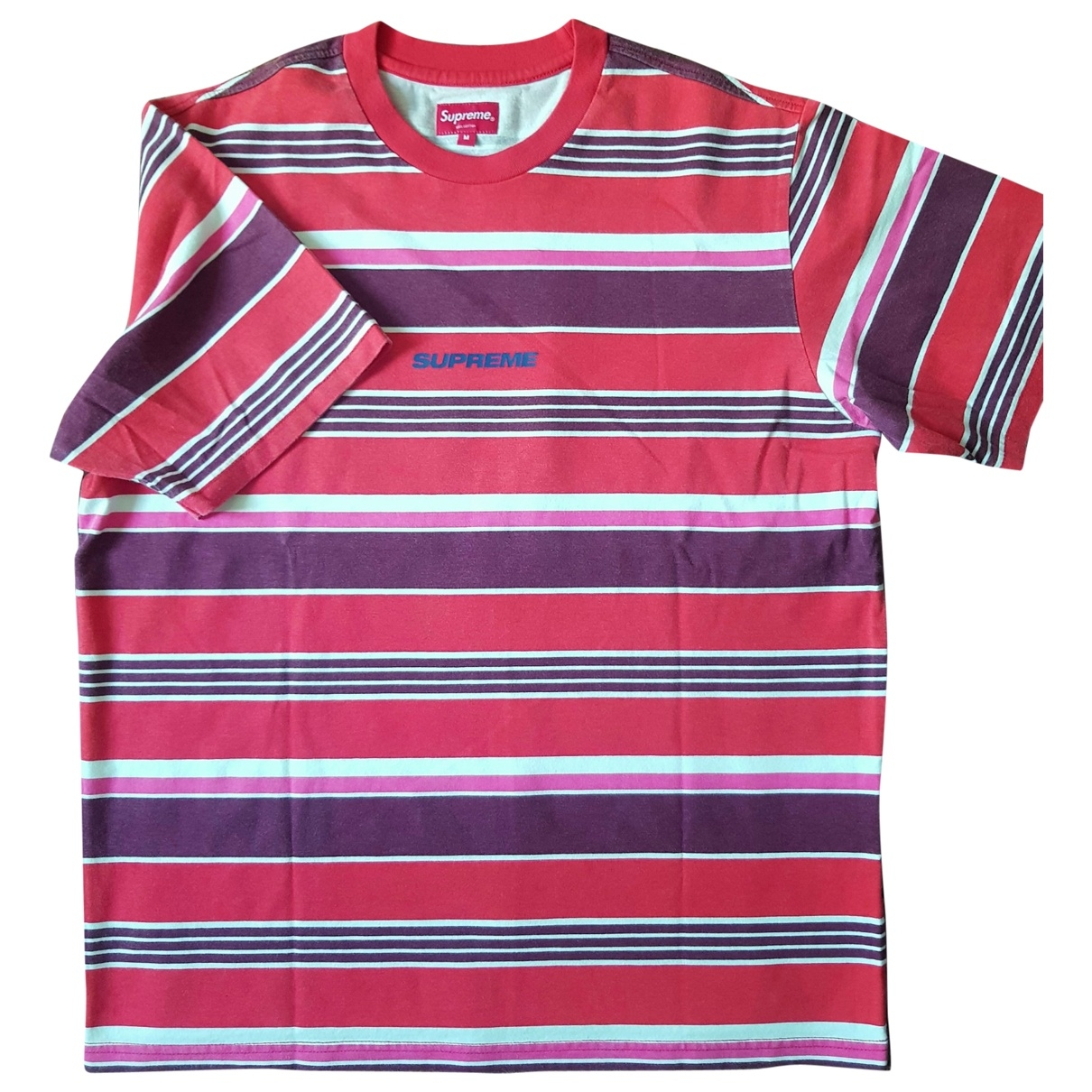 Supreme \N Red Cotton T-shirts for Men M International