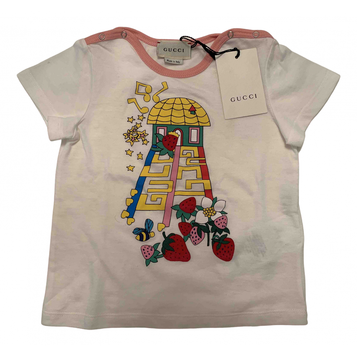 Gucci \N White Cotton  top for Kids 18 months - up to 81cm FR