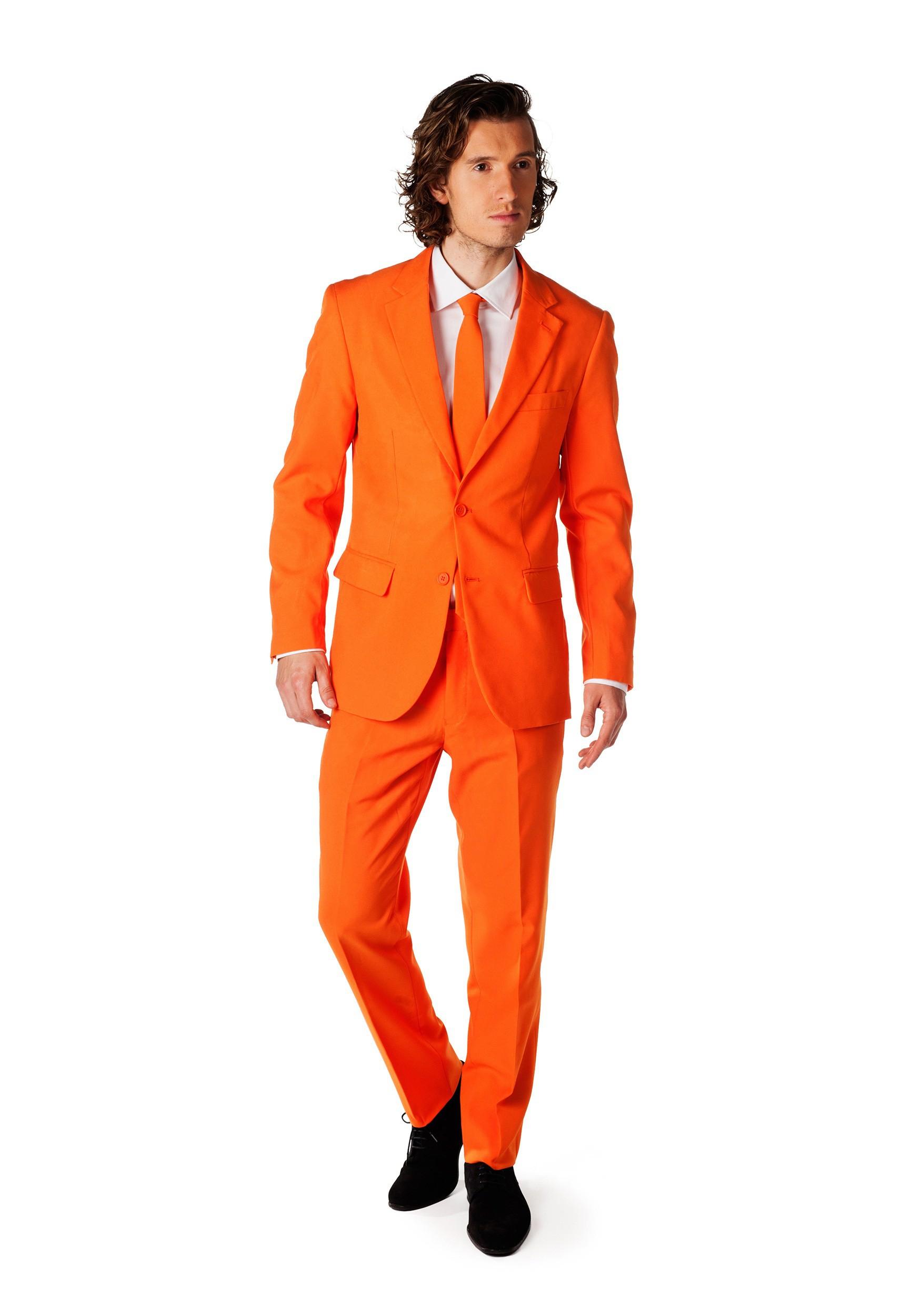 Men's OppoSuits Orange Costume Suit