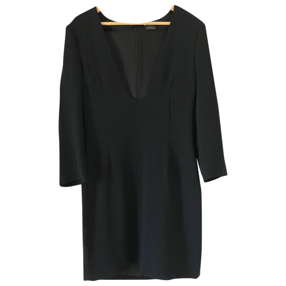 La Perla \N Kleid in  Schwarz Seide