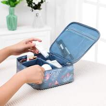 Flamingo Print Cosmetic Storage Bag
