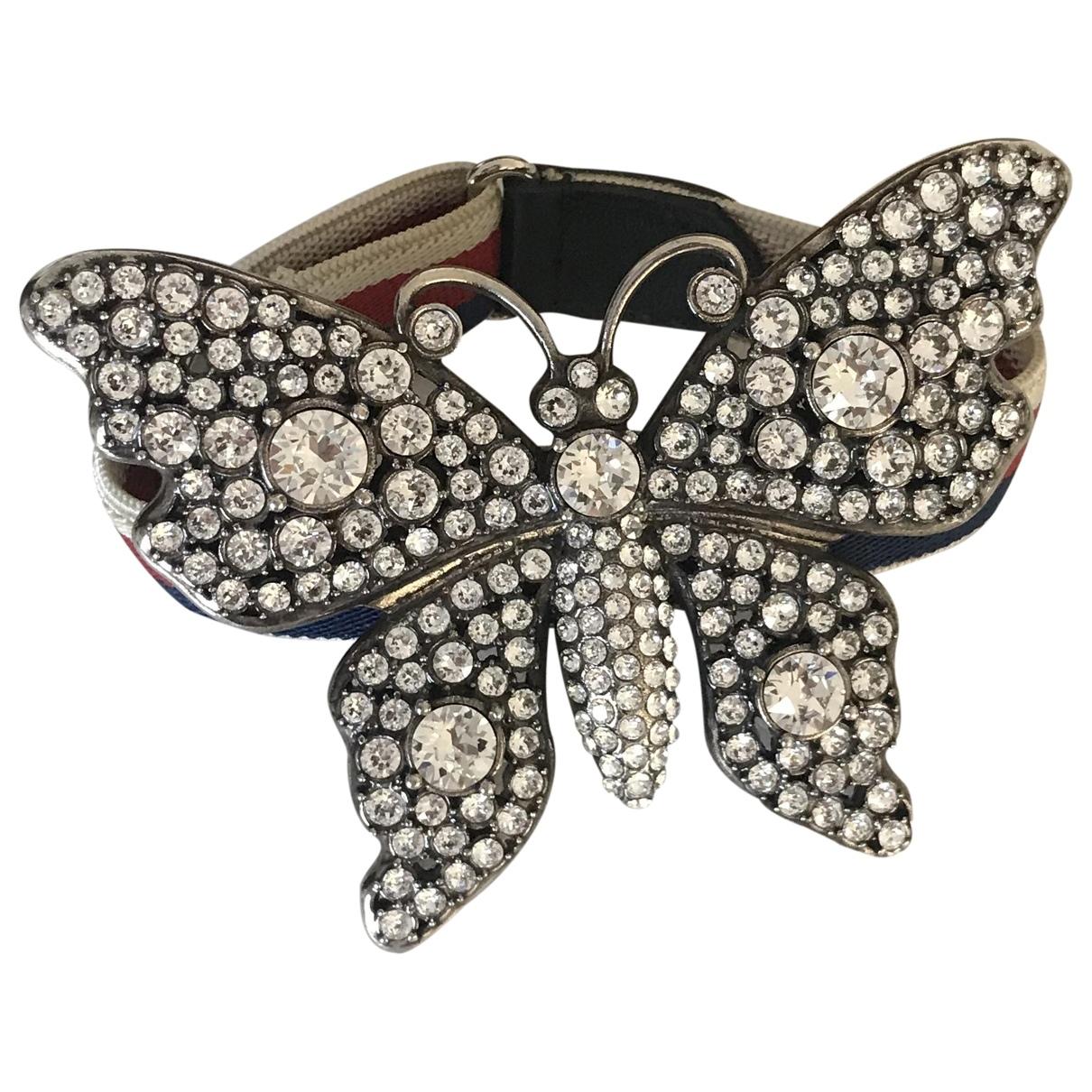 Gucci - Bracelet   pour femme en cristal - blanc