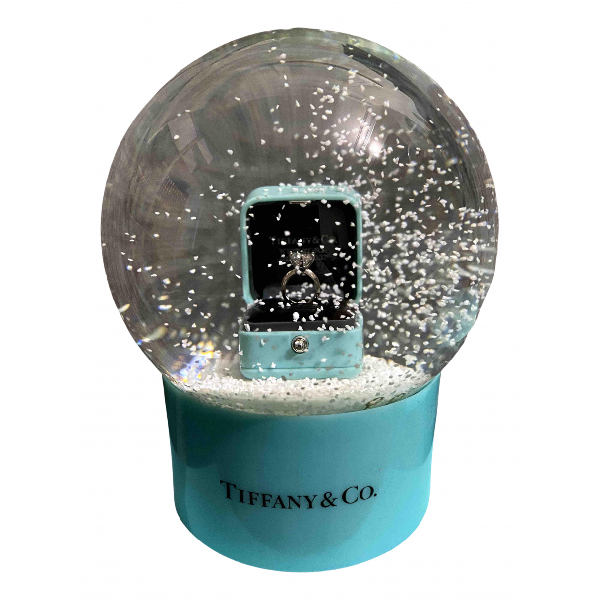 Tiffany & Co N Turquoise Glass Home decor for Life & Living N