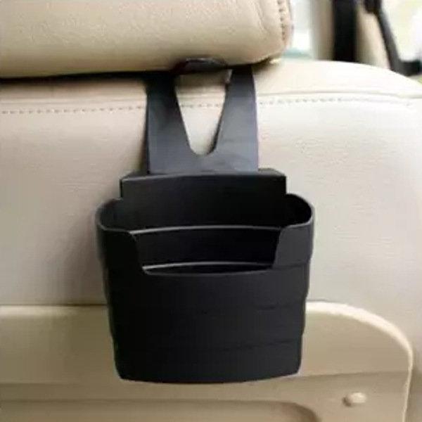 Multi-Usage Car Storage Box Phone Beverage Holder French Fries Holder