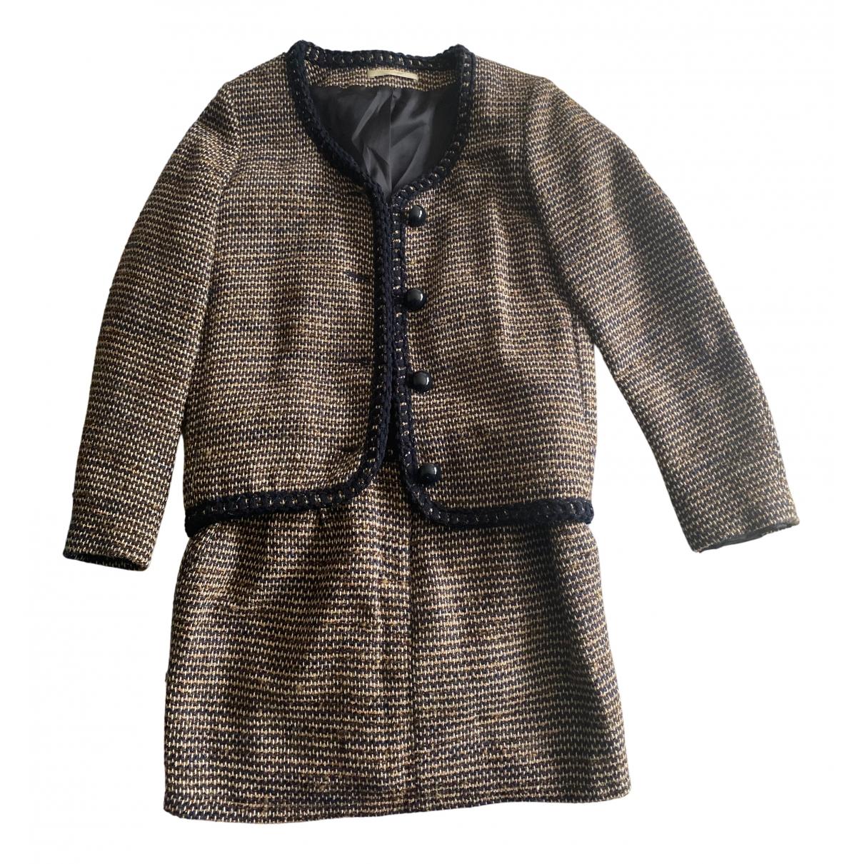 Sessun N Beige Wool skirt for Women 40 FR