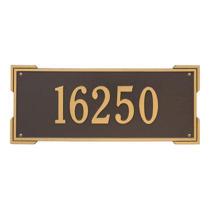 1019OG Personalized Roanoke Plaque - Estate -Wall - 1 Line in