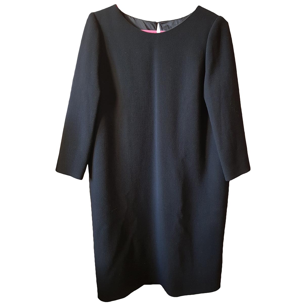 Bouchra Jarrar - Robe   pour femme en laine - noir
