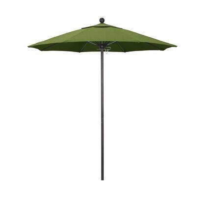 ALTO758117-48022 7.5' Venture Series Commercial Patio Umbrella With Bronze Aluminum Pole Fiberglass Ribs Push Lift With Sunbrella 1A Spectrum