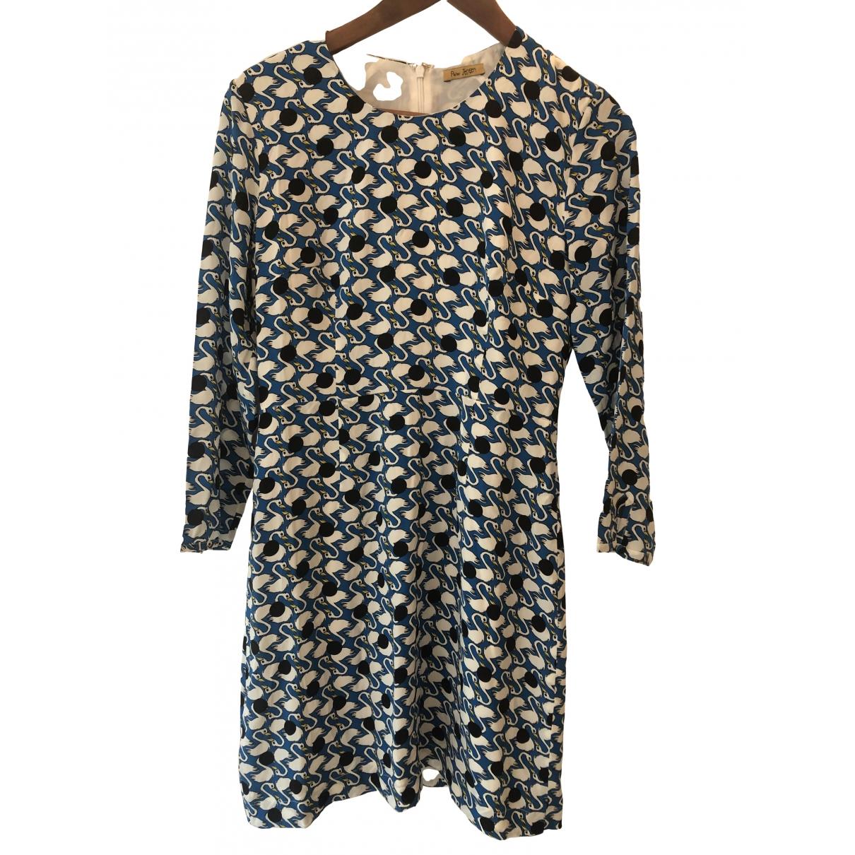 Mini vestido de Seda Peter Jensen