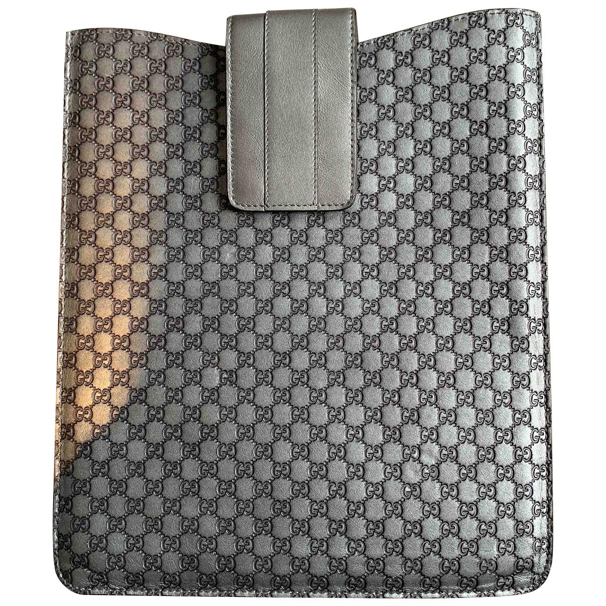 Gucci - Accessoires   pour lifestyle en cuir - argente
