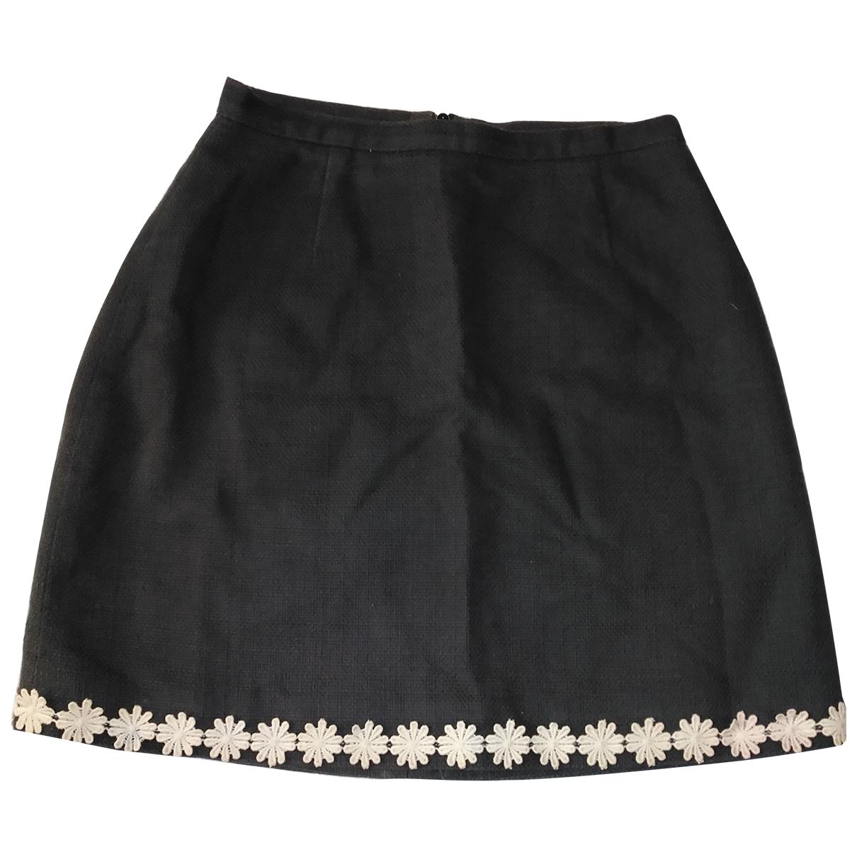 D&g \N Black Cotton skirt for Women 40 IT