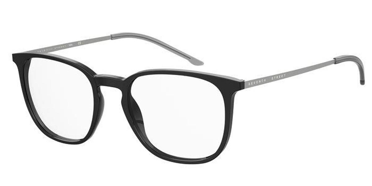 Seventh Street 7A059 08A Men's Glasses Black Size 52 - Free Lenses - HSA/FSA Insurance - Blue Light Block Available
