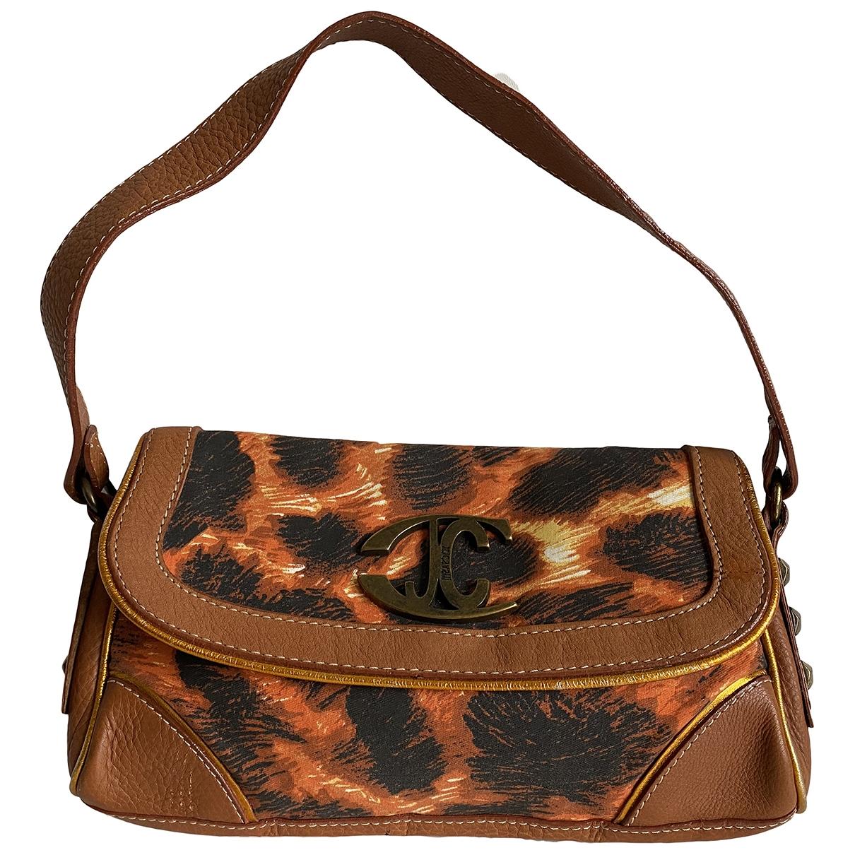 Just Cavalli \N Orange Cloth handbag for Women \N