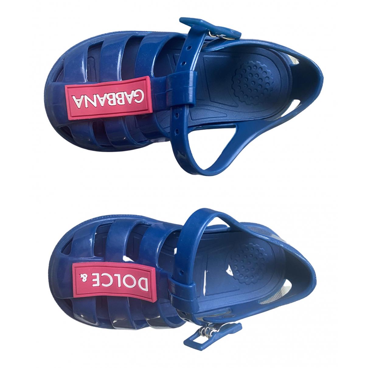 Dolce & Gabbana \N Blue Sandals for Kids 23 FR