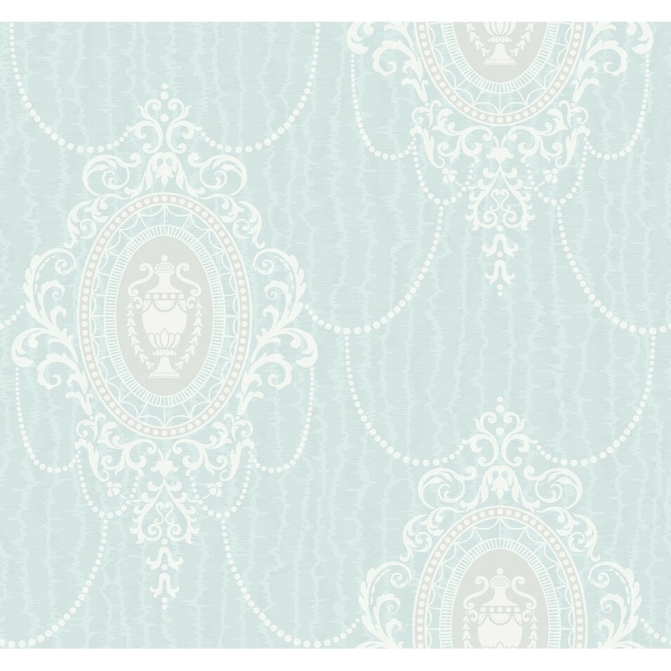 French Bouquet Wallpaper (gold, green, and neutral)